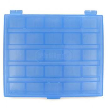 Boîte pour bobines bleu