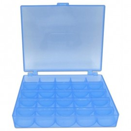 Spulenboxen blau