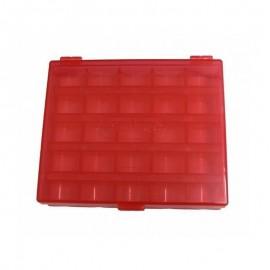 Boîte rouge pour bobines