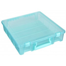 Boîte de rangement bleu 6955AA